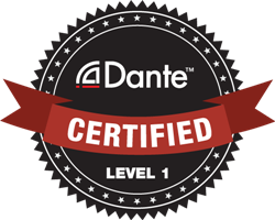 dante certified logo level1