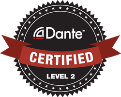 dante certified logo level2